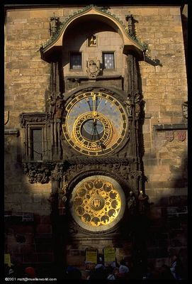 Horloge astronomique de Prague 3