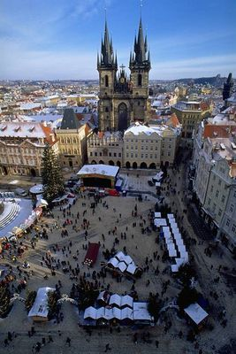 Place de la vieille ville de Prague 5