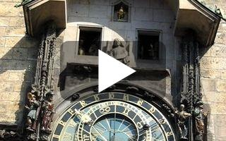 Video: Prague, horloge astronomique, 5 août 2007, 10h